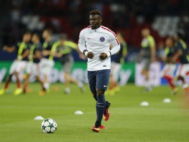 File photo of PSG defender Serge Aurier. Reuters