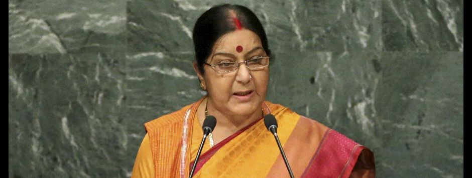 At UNGA, Sushma Swaraj's stinging rebuke puts meddlesome Pakistan firmly in its place