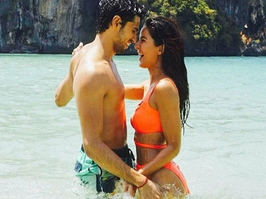 Sidharth Malhotra and Katrina Kaif in 'Baar Baar Dekho'