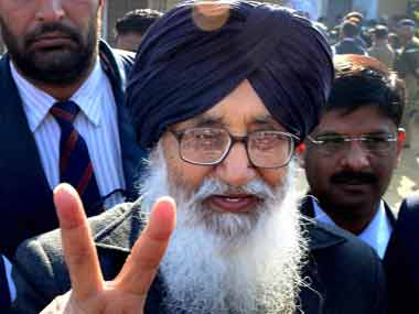 A file photo of Badal. PTI