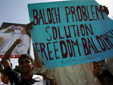 US against independence for Balochistan. Reuters