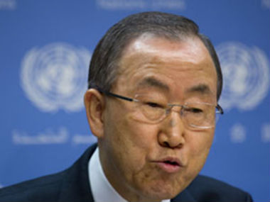 File photo of UN Secretary-General Ban Ki-moon. AP