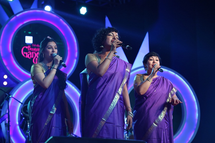 Berklee Indian Ensemble performing in Bengaluru