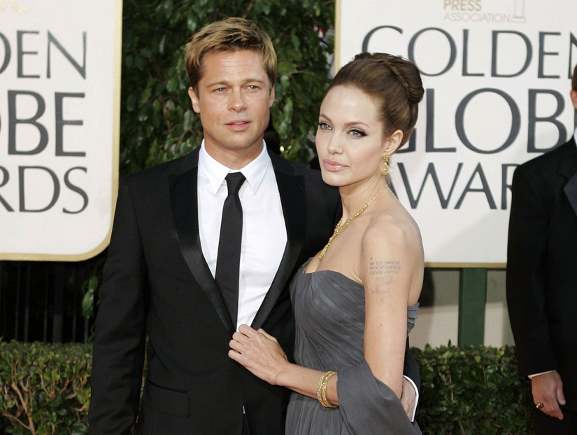 Brangelina no more: Brad Pitt and Angelina Jolie are separating after 12 years of being a couple. Image from AP
