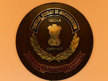 Central Bureau of Investigation logo. AFP