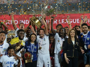 Chennaiyin FC won the 2015 ISL title the hard way. AFP