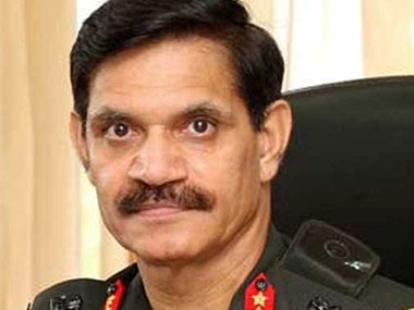 File image of General Dalbir Singh Suhag. News18.