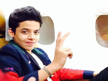 Darsheel Safary. Image courtesy Facebook