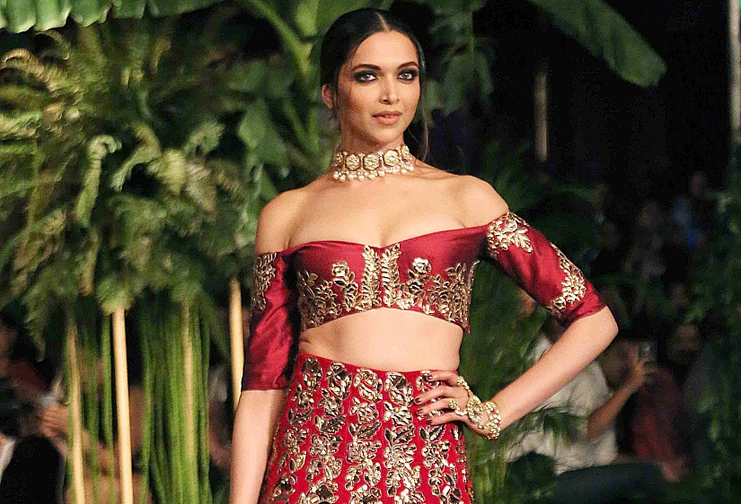 Most well-known models have moved on to Bollywood, like Deepika Padukone, explaining the lack of 'supermodels' on the Indian ramp