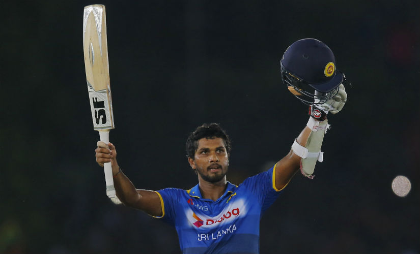 Dinesh Chandimal accumulated a total of 236 runs in the ODI series. AP