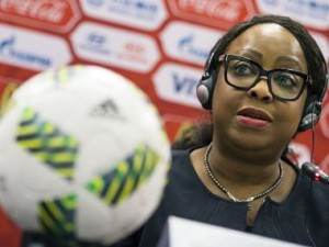 File photo of Fifa Secretary General Fatma Samoura. AP