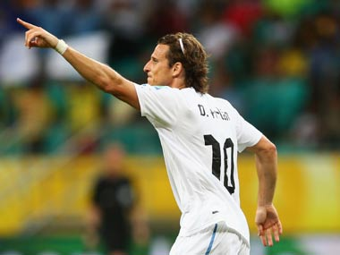 File image of Diego Forlan. Getty Images