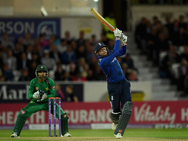 Jonny Bairstow helped England seal their fourth straight win against Pakistan by scoring 67. Getty Images