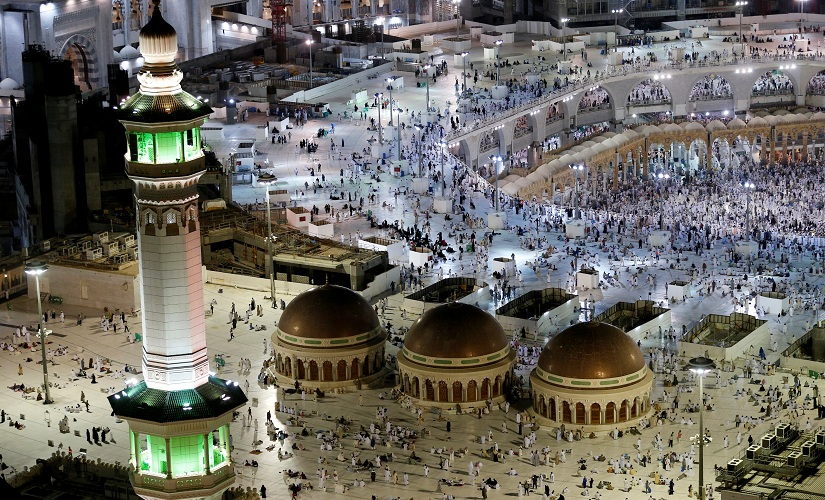 General view of the Grand Mosque in Mecca, Saudi Arabia September 9, 2016. REUTERS/Ahmed Jadallah - RTX2OVM0