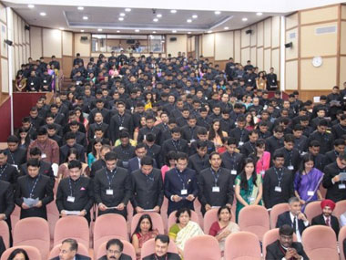 Future bureaucrats. Image courtesy  Lal Bahadur Shastri National Academy of Administration