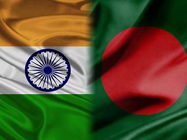India and Bangladesh flags.
