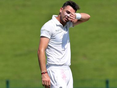 File photo of James Anderson. Getty Images