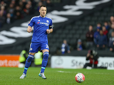 File photo of John Terry. Getty Images