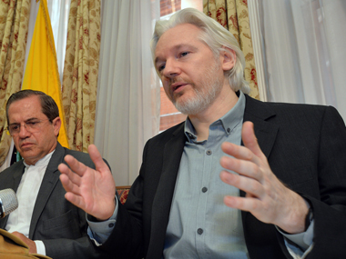 File image of Julian Assange. Reuters.