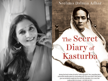 Neelima (L); the book