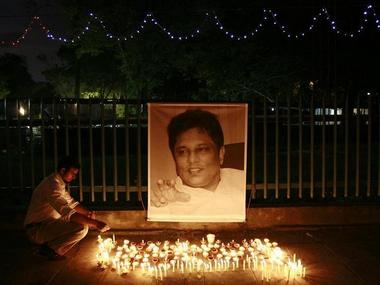 Sri Lankan journalist Lasantha Wickrematunga was shot by gunmen on January 8, 2009, and the identity of the gunmen remains unknown. Reuters