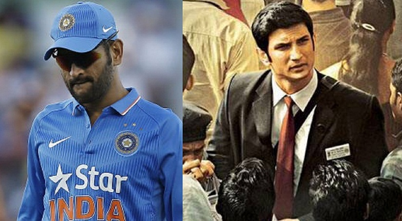Ms Dhoni; Sushant Singh Rajput in a still from the biopic