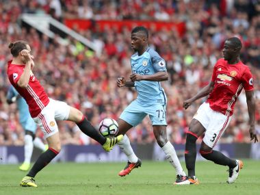 Kelechi Iheanacho scored the second goal for City. AP