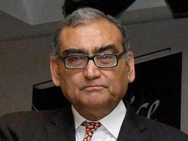 File image of Justice Markanday Katju. PTI