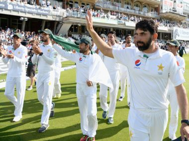 Pakistan captain Misbah-ul-Haq. Getty Images