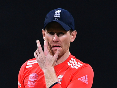 File photo of Eoin Morgan. AFP
