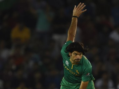 File photo of Pakistan cricketer Muhammad Irfan. AFP