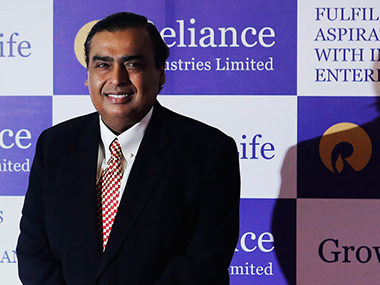 Mukesh Ambani. Reuters file photo