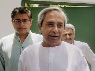 File photo of Naveen Patnaik. PTI
