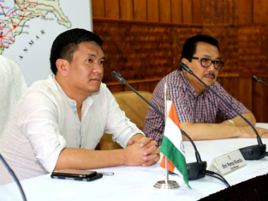 File image of Arunachal Pradesh chief minister Pema Khandu. Facebook