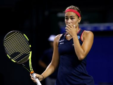 File photo of Monica Puig. Reuters