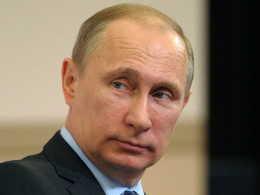 File photo of Russia's President Vladamir Putin. AP