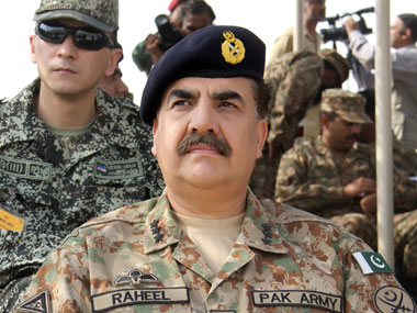 File image of General Raheel Sharif. Reuters
