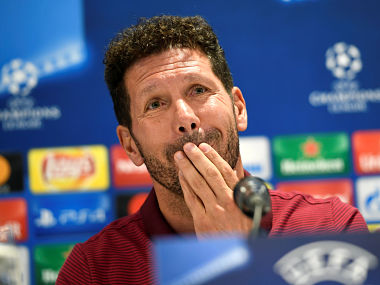 Atletico Madrid manager Diego Simeone. Reuters