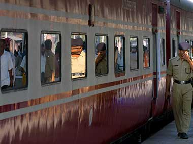 Rajdhani Express. AFP file