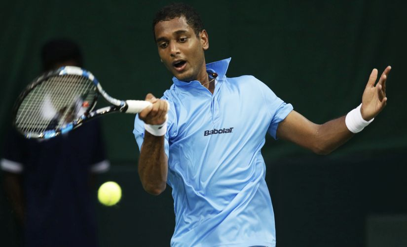 India's Ramkumar Ramanathan fought hard against Spain's Feliciano Lopez. AP