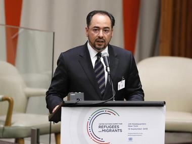 Afghanistan's Minister for Foreign Affairs Salahuddin Rabbani. Reuters