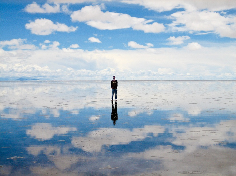 Salar de Uyuni in Bolivia. Image courtesy: Creative Commons
