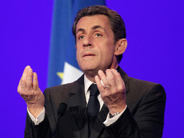 A file photo of Nicolas Sarkozy. AP