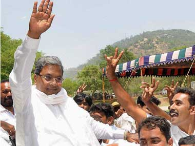 File image of Siddaramiah. PTI