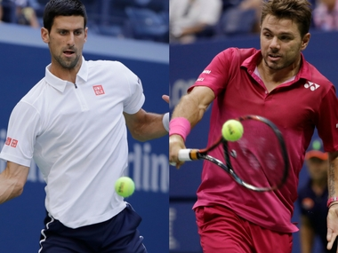 It's Novak Djokovic vs Stan Wawrinka in the US Open Men's final.