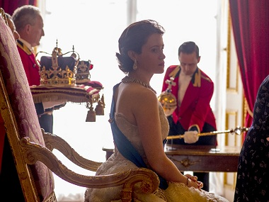 A still from The Crown. Image courtesy: Netflix