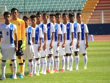 The U-17 Indian football team. Image courtesy: AIFF