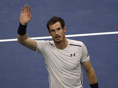 Andy Murray waves to fans after defeating Marcel Granollers, of Spain. AP