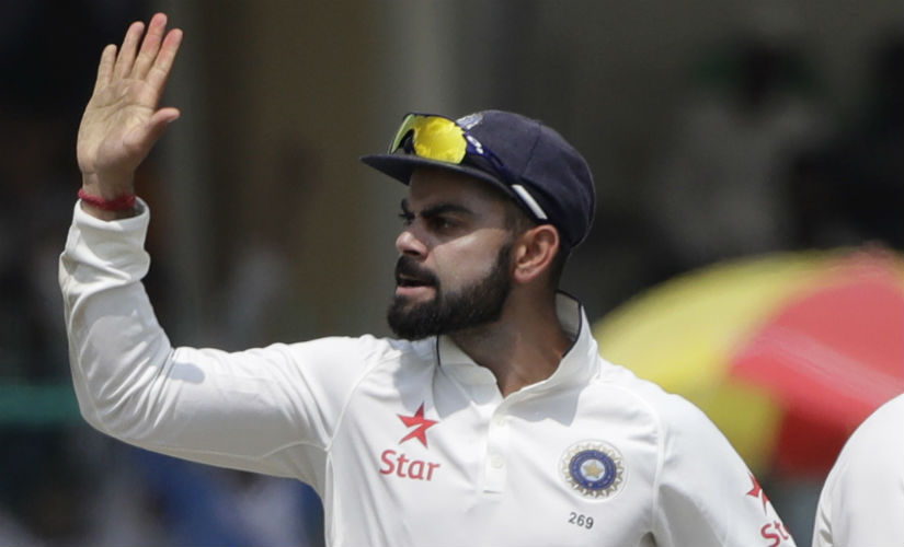 India Test skipper Virat Kohli. AP