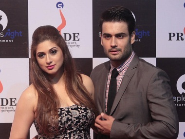Vivian Dsena and Vahbiz Dorabjee. Image from YouTube